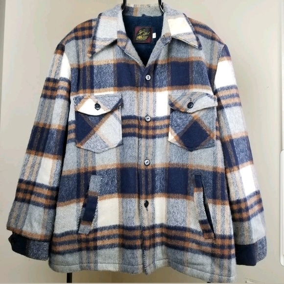 96ff9f9c97f John Blair Other - John Blair vintage plaid coat jacket XL